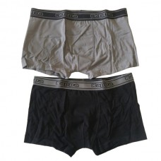 302A770 Kappa JUNE UNW  Men's Boxers Grey Black Pack of 2